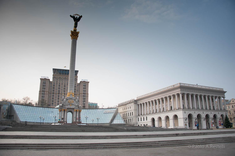 Kiev,ricordo di Piazza Maidan