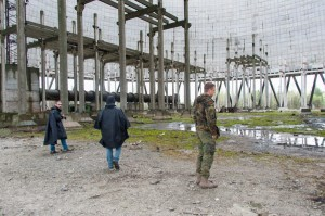Cooling tower Chernobyl NPP